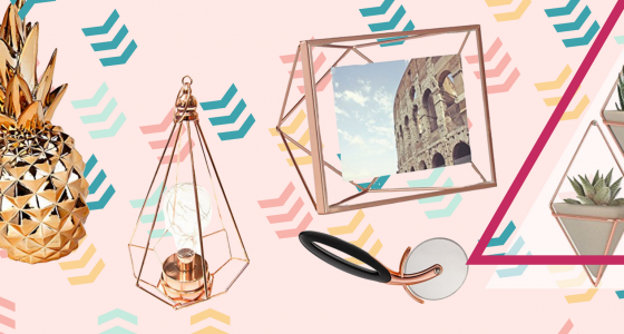 23 idee per decorare la casa con oggetti in rame