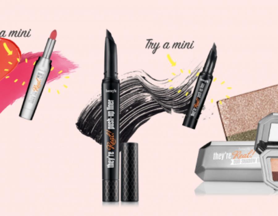 Scopriamo la nuova Collezione They're Real di Benefit Cosmetics