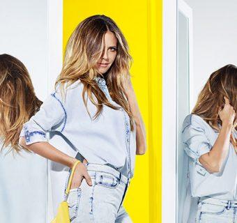 Heidi Klum presenta la nuova Collezione #LETSDENIM creata per Lidl