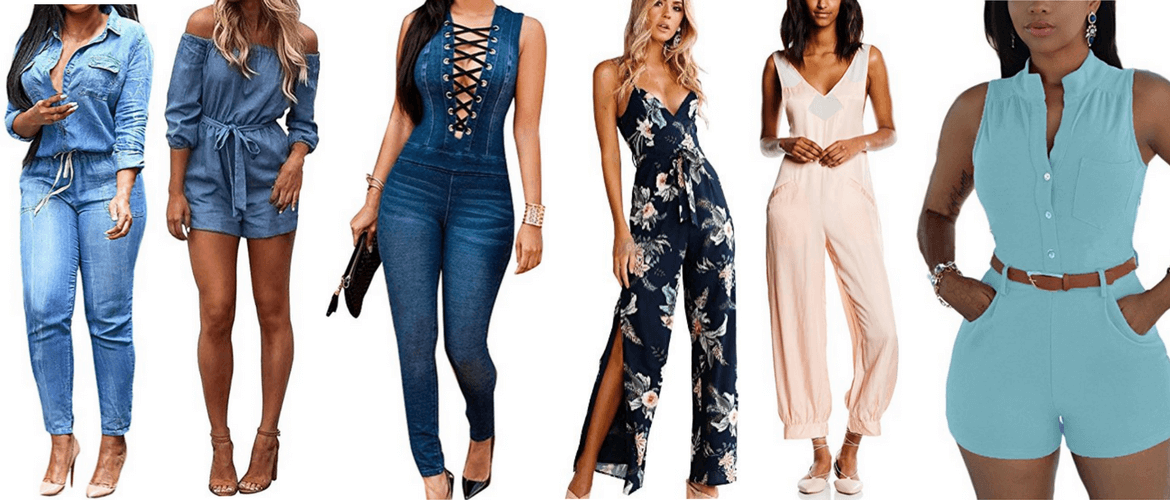 jumpsuit in denim e seta