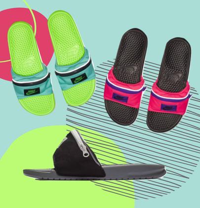 La nuova tendenza 2018 secondo Nike? La Ciabatta Marsupio
