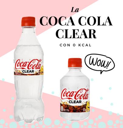 In Giappone la prima Coca-Cola Clear