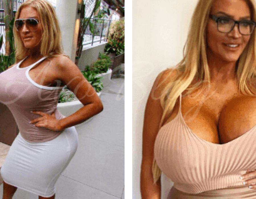 Allegra Cole, mostra i suoi 11 kg di seno