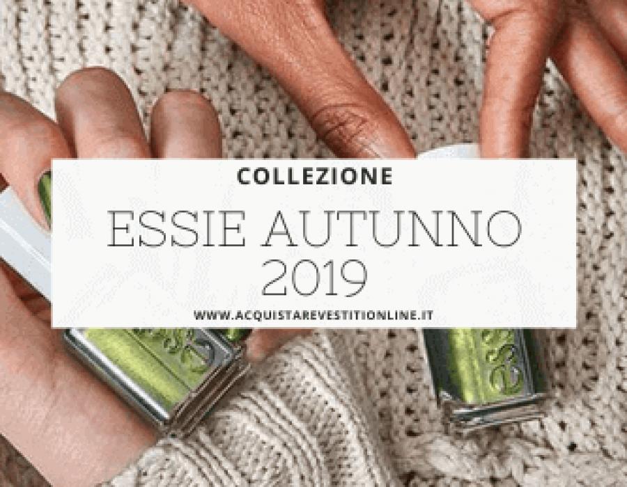 Smalti Essie autunno 2019