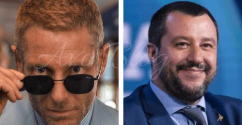 Lapo Elkann va fuori di testa e insulta Salvini
