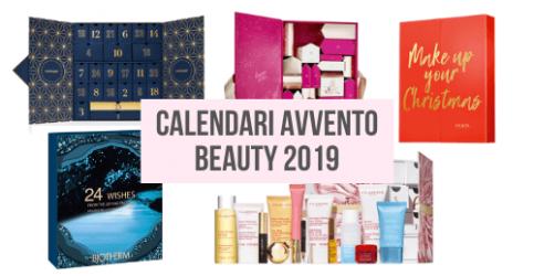 I calendari dell'avvento beauty 2019
