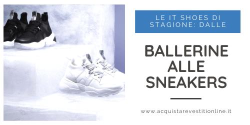 Le ballerine e le sneakers sono le IT shoes di stagione