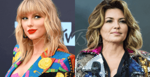 I fan di Taylor Swift furiosi contro Shania Twain