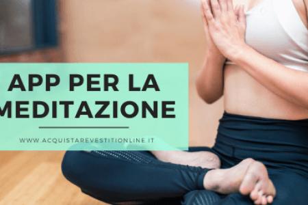 App per meditare
