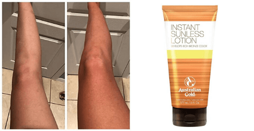Instant Sunless Lotion di Australian Gold