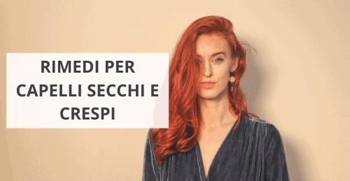 Rimedi per capelli crespi e secchi Avo by Margherita Ventura